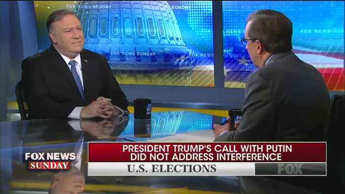 Mike Pompeo flattens Chris Wallace