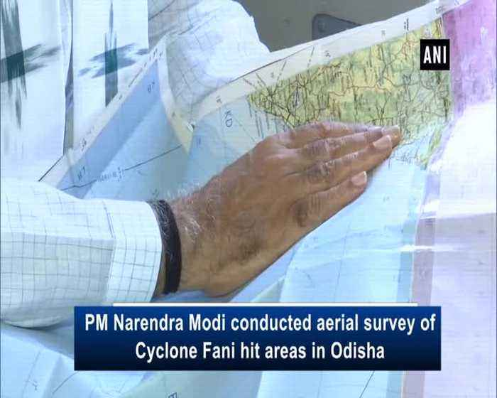 Cyclone Fani PM Modi conducts aerial survey of affected areas in Odisha