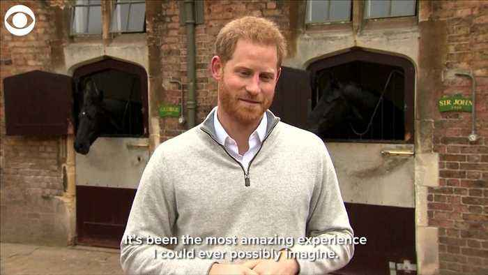 WEB EXTRA: Prince Harry On Birth Of Son