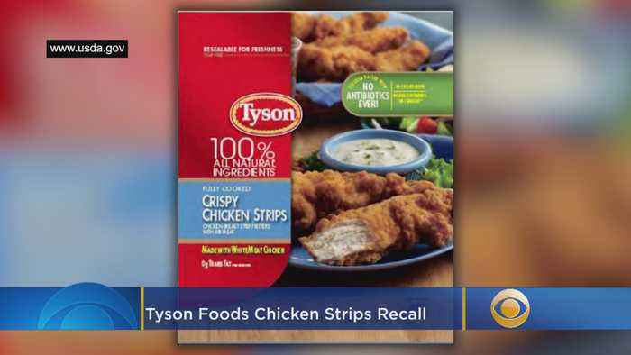 Tyson Foods Recalls Chicken Strips For Possible Metal Contamination