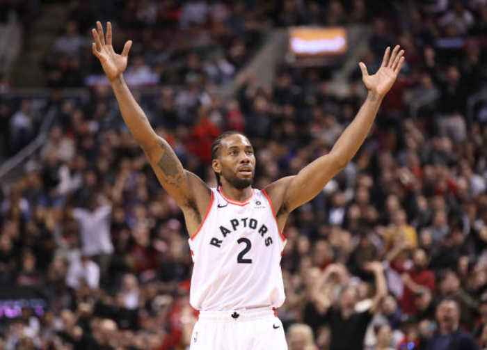Kawhi Leonard Adds to Historic Postseason With 39 Points in Win Over Sixers