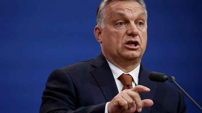 Hungarian PM withdraws support from Weber for EU's top job