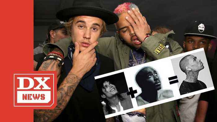Justin Bieber Says Chris Brown Is A Mix Of Michael Jackson And Tupac Shakur