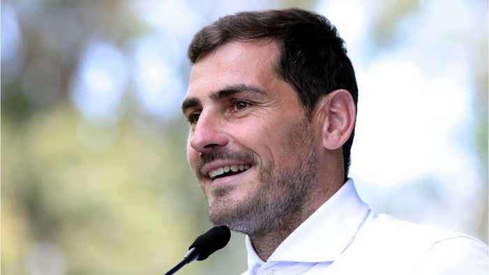 Iker Casillas recovering from heart attack