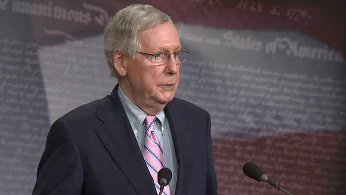 """Mitch McConnell declares Mueller probe """"case closed"""""""