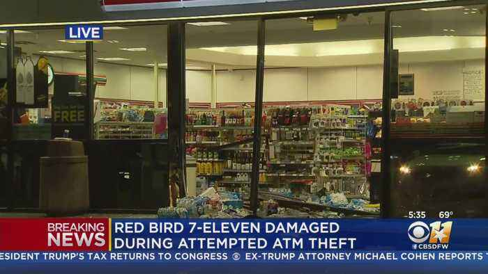 Thieves Trying To Steal ATM Smash Into 7-Eleven