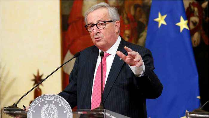 EU's Juncker Say He Trusts Trump On Trade, Needs Quick U.S.-China Deal