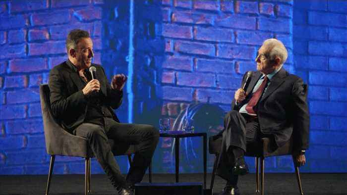 Bruce Springsteen And Martin Scorsese In Conversation