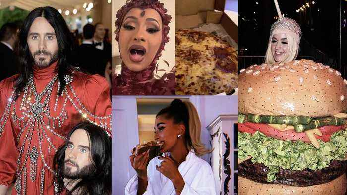 Met Gala: Jared Leto's Head Sparks Dirty Jokes, Cardi B & Hailey Get Pizza, and J.Lo is Unfazed by Katy Perry's Burger Outfit