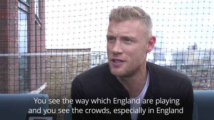 Andrew Flintoff: Cricket is becoming 'rock and roll'