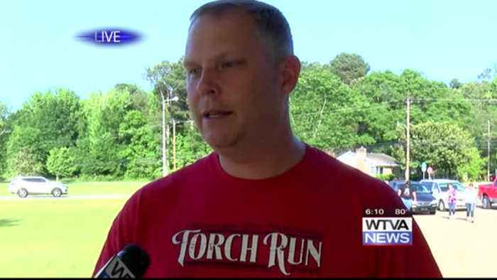 Special Olympics torch lit in Tupelo