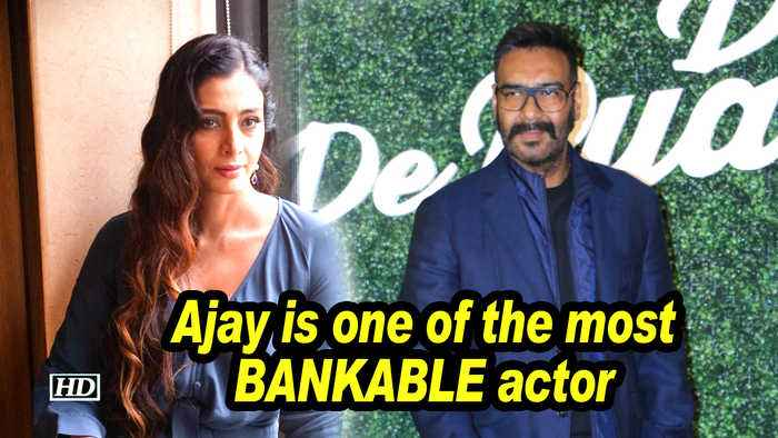 Ajay is one of the most BANKABLE actors: Tabu