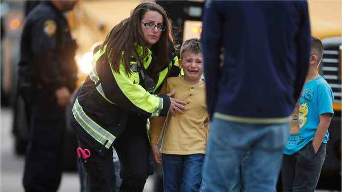 Two Students Open Fire At Denver School, One Dead, Eight Wounded