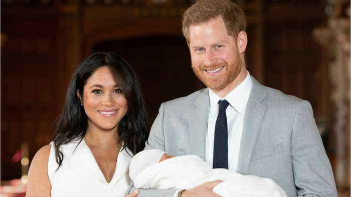 Meghan And Harry Met By Just One Reporter At Baby 'Unveiling'