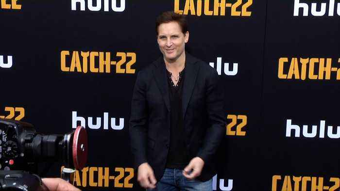 Peter Facinelli 'Catch 22' Premiere Black Carpet