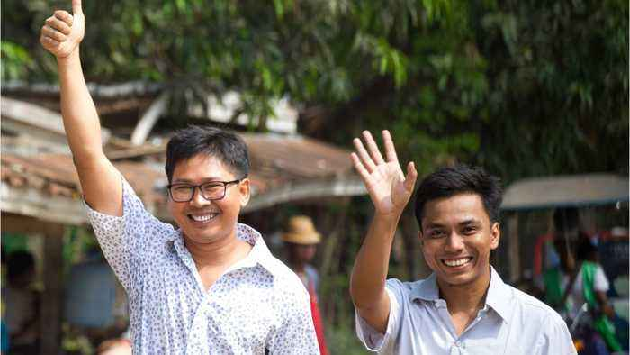 Myanmar can start new chapter after freeing Reuters journalists