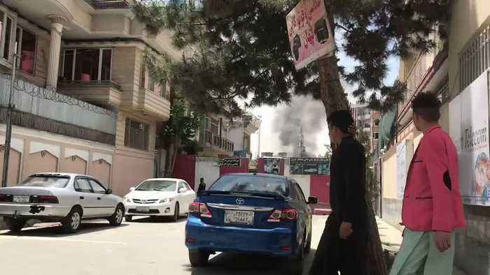 Officials Say US NGO Targeted in Kabul Attack