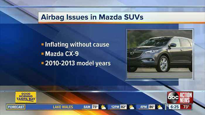 US probes inadvertent side air bag deployment on Mazda SUVs