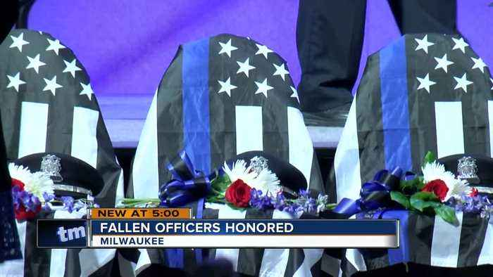 Fallen officers honored in Milwaukee