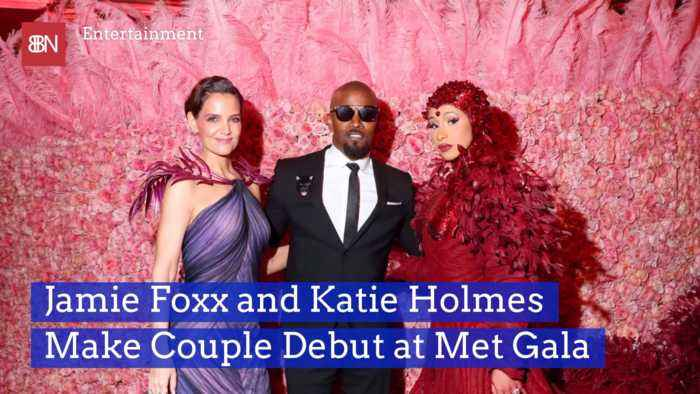 Jamie Foxx And Katie Homes Show The Love At Met Gala