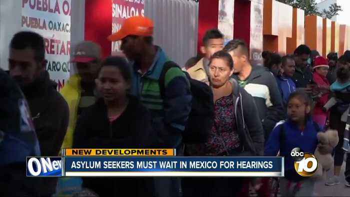 Court ruling: Asylum seekers must wait in Mexico for hearings