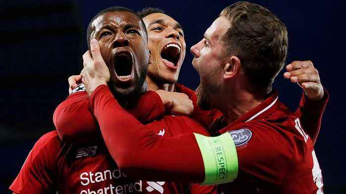 Liverpool beat Barcelona 4-0 to reach Champions League final