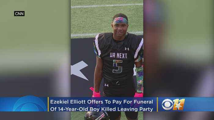 Ezekiel Elliott Offers To Pay For Funeral Of 8th-Grade Football Phenom Killed By Apparent Stray Bullet