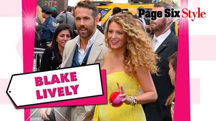 Blake Lively's dazzling look is just as bright as her maternity glow