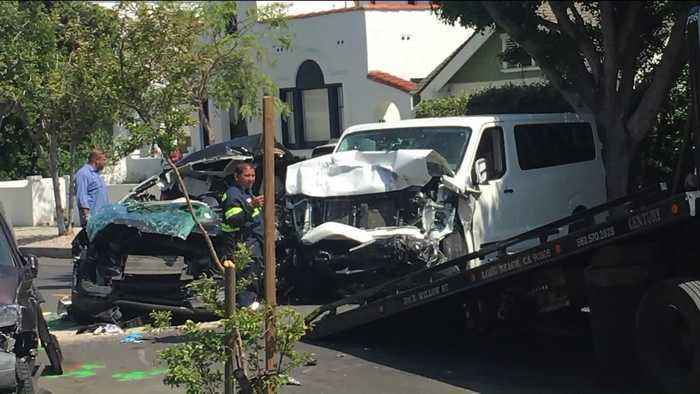Pursuit Ends in Crash, Killing Woman and 5 Dogs in Southern California