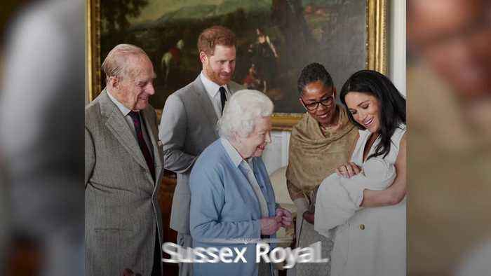 Harry and Meghan name baby son Archie