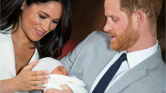 Royal Couple Names Newborn Son Archie Harrison