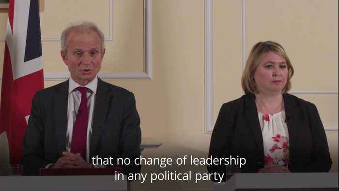David Lidington: Changing the PM doesn't change the numbers