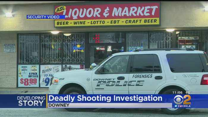 Man Gunned Down At Downey Liquor Store