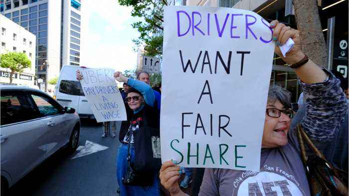 Rideshare Protestors Strike In More Than 20 Cities Worldwide