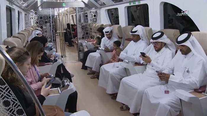 Watch: Qatar unveils metro ahead of 2022 World Cup