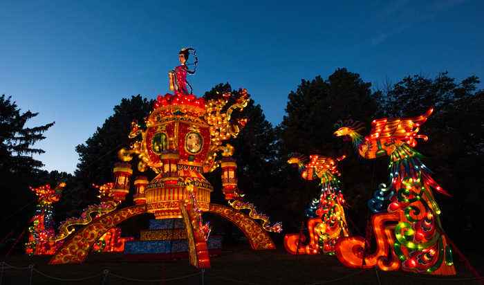 It's back! Cleveland Metroparks Zoo release details of Asian Lantern Festival this summer