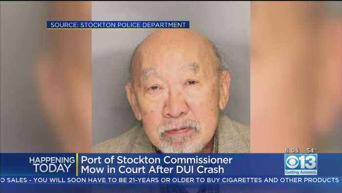 Former Stockton Vice Mayor In Court After DUI Crash