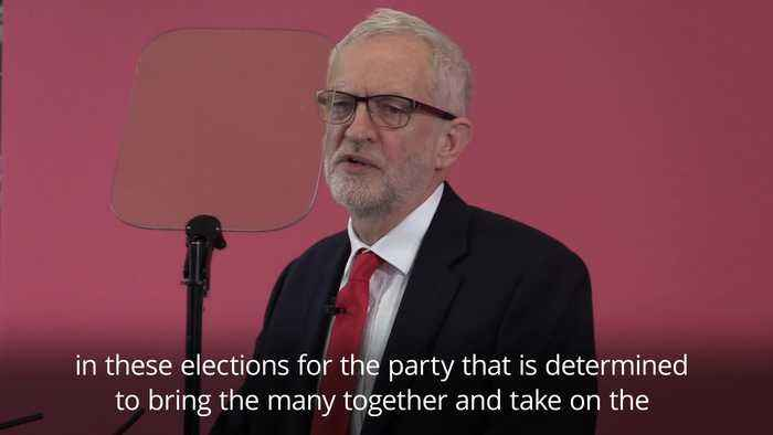 Jeremy Corbyn launches Labour Party's European election campaign