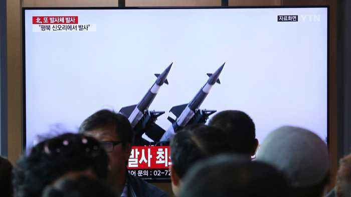 North Korea's Projectiles Were Likely Short-Range Missiles