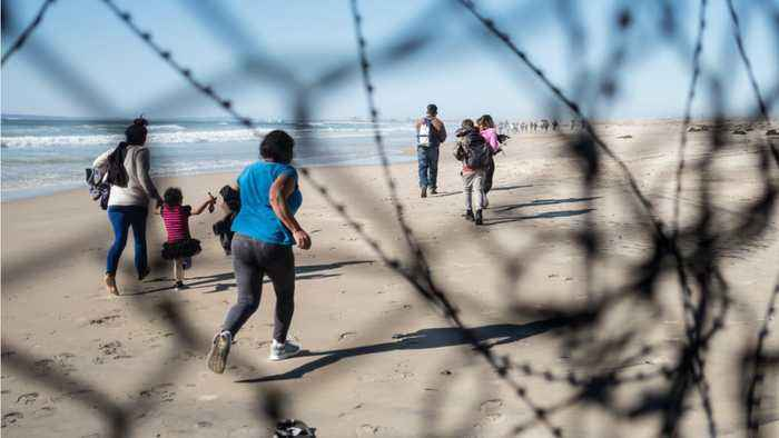 Number Of Migrants Crossing The Border Hits High Numbers