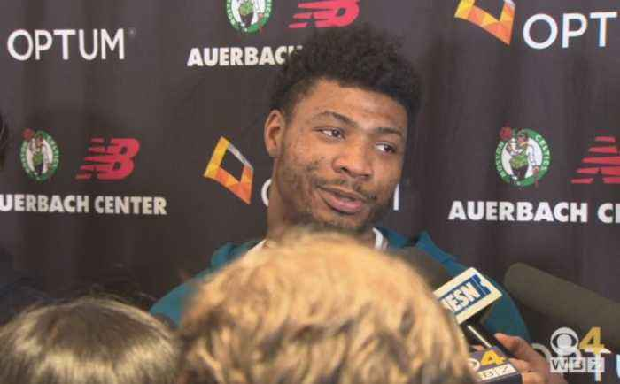 Marcus Smart Won't Blame Celtics' Downfall On Kyrie Irving