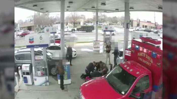 Surveillance Video Shows Deadly Gas Station Fight in Utah