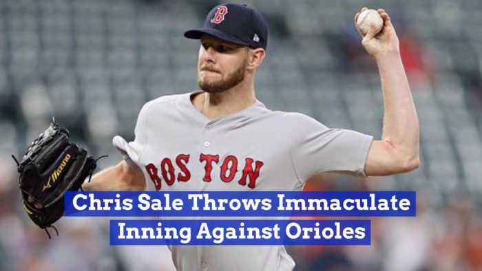 Chris Sale's Makes Boston Red Sox history