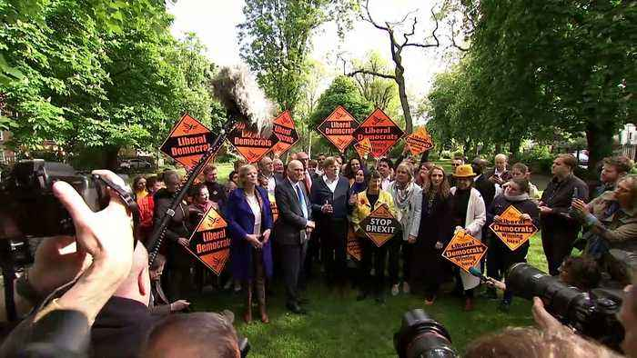 Guy Verhofstadt joins Lib Dems on campaign trail
