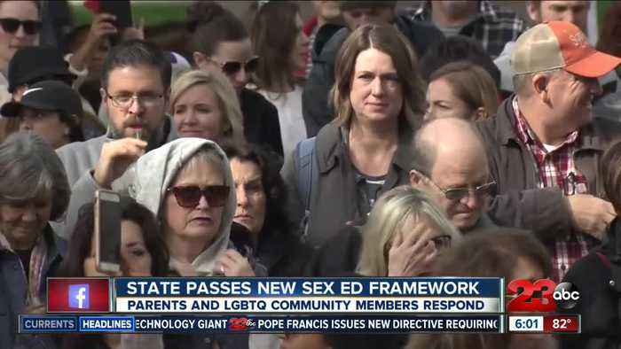 California Department of Education approves new sex education framework for K-6