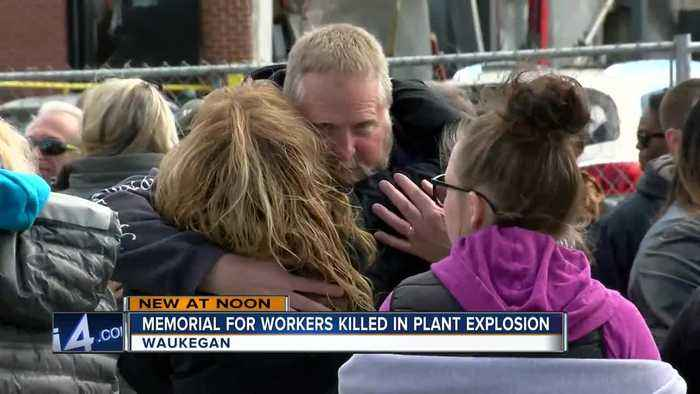 Waukegan gathers to remember 4 men killed in plant explosion