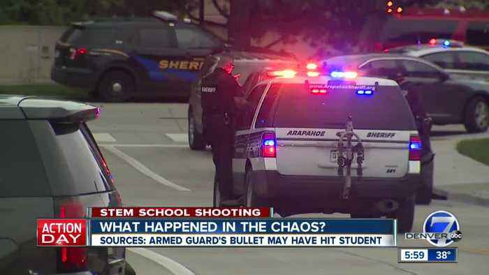 High-ranking sources say STEM School armed guard may have mistakenly fired at deputies