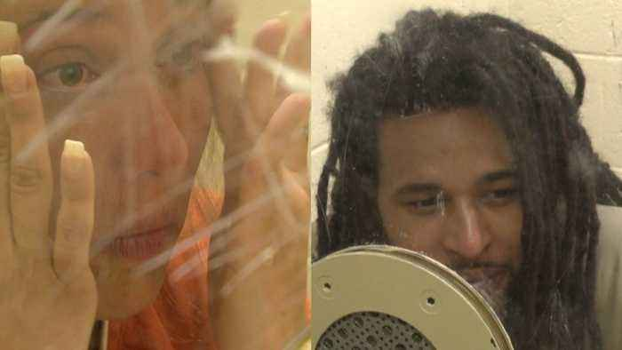 Couple Gives Jailhouse Interview Denying They Kidnapped Missing Woman, Forced Her into Prostitution