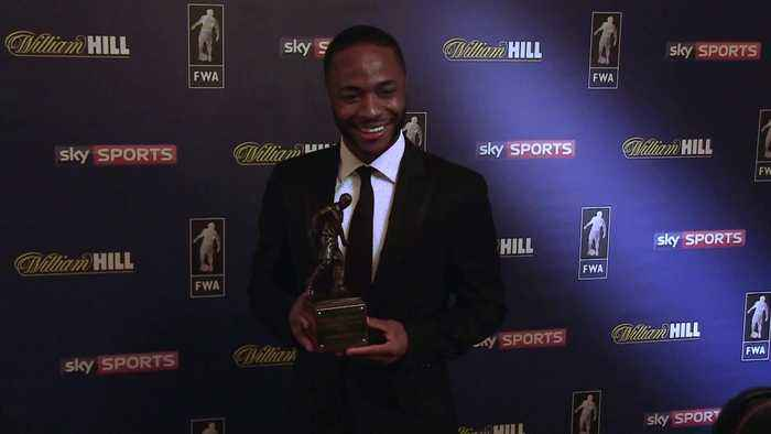 Raheem Sterling: Football Writers' Player of the Year relishing final-day title showdown