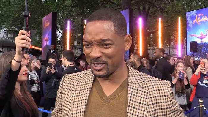 Will Smith took inspiration from 1970s bodybuilders for Genie's look in Aladdin